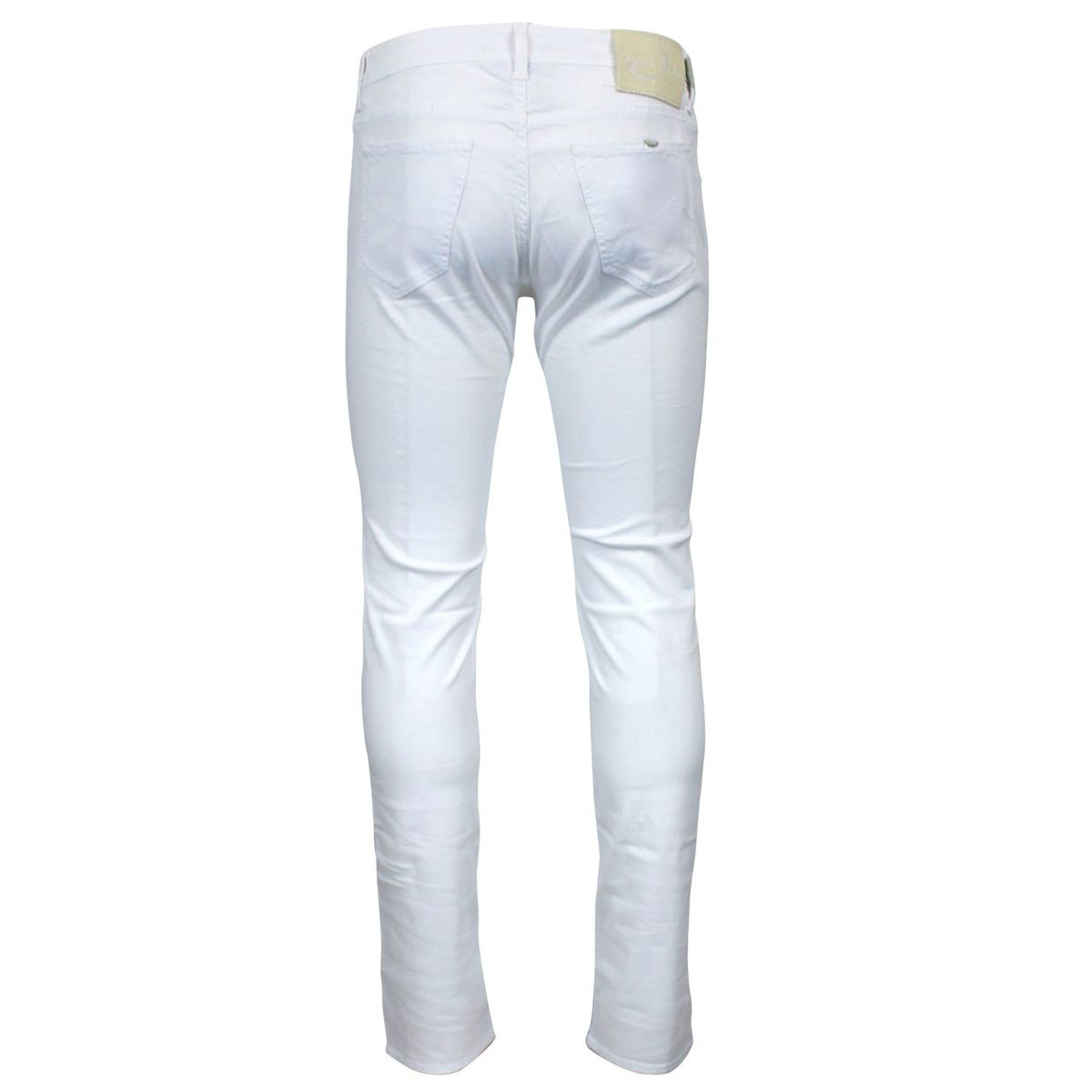 Trousers with American pocket White Jacob Cohen