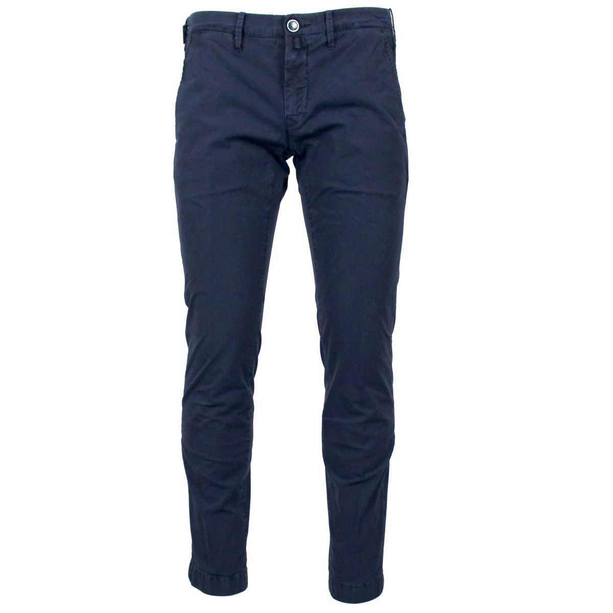Trousers with American pocket Navy Jacob Cohen
