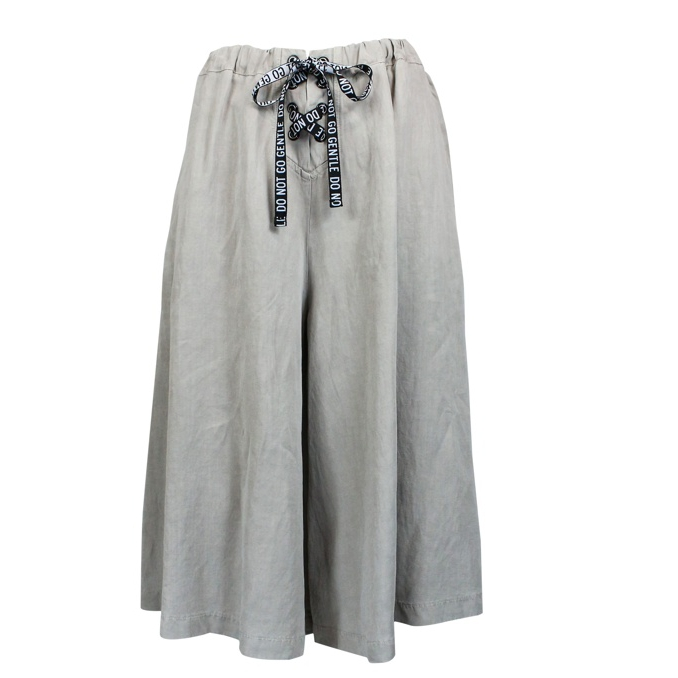 Wide trousers with laces Grey Jeckerson