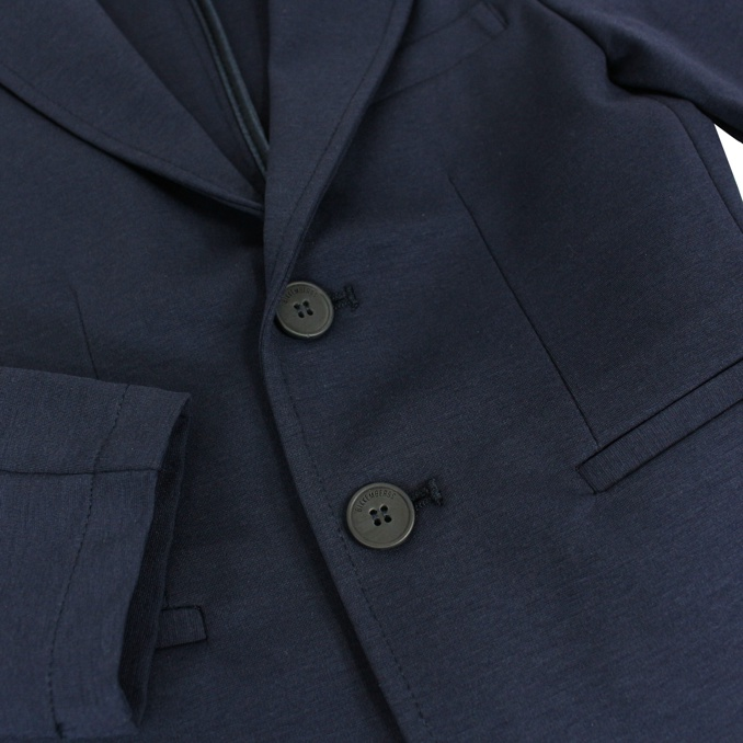 2-button stretch jacket Blue BIKKEMBERGS