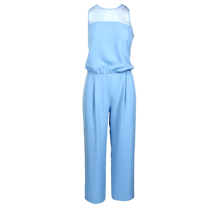 Twill suit Light blue Patrizia Pepe