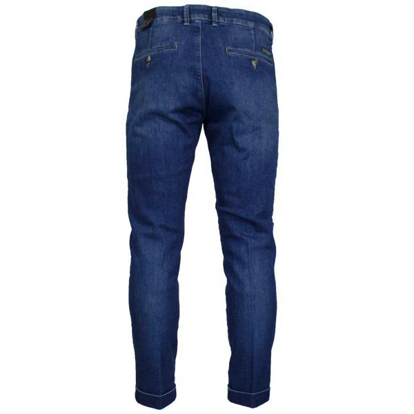 Ankle chino jeans with america pockets Medium denim Jeckerson