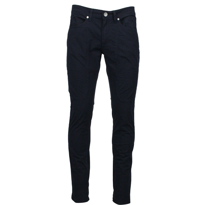 Slim patch trousers Navy Jeckerson