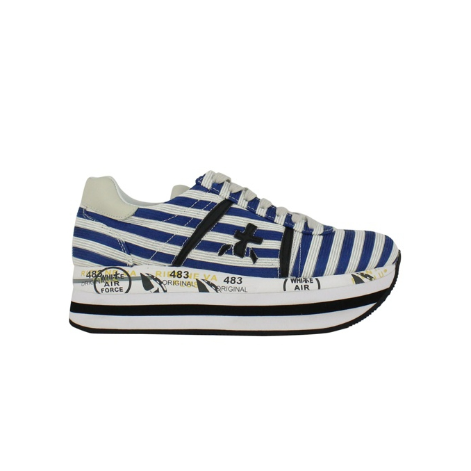 Beth sneakers 2988 White / blue Premiata