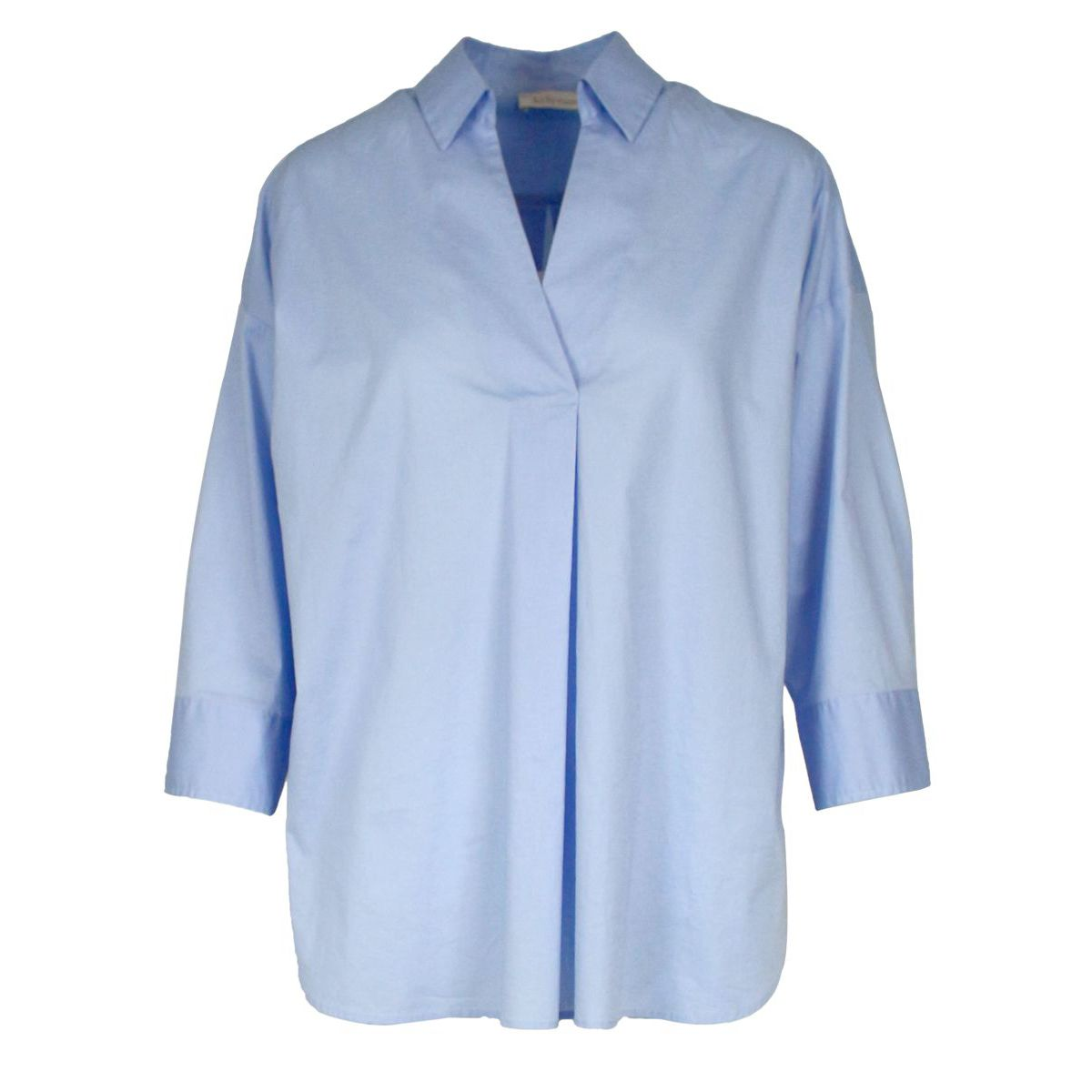 Shirt with balloon sleeves Light blue Jeckerson