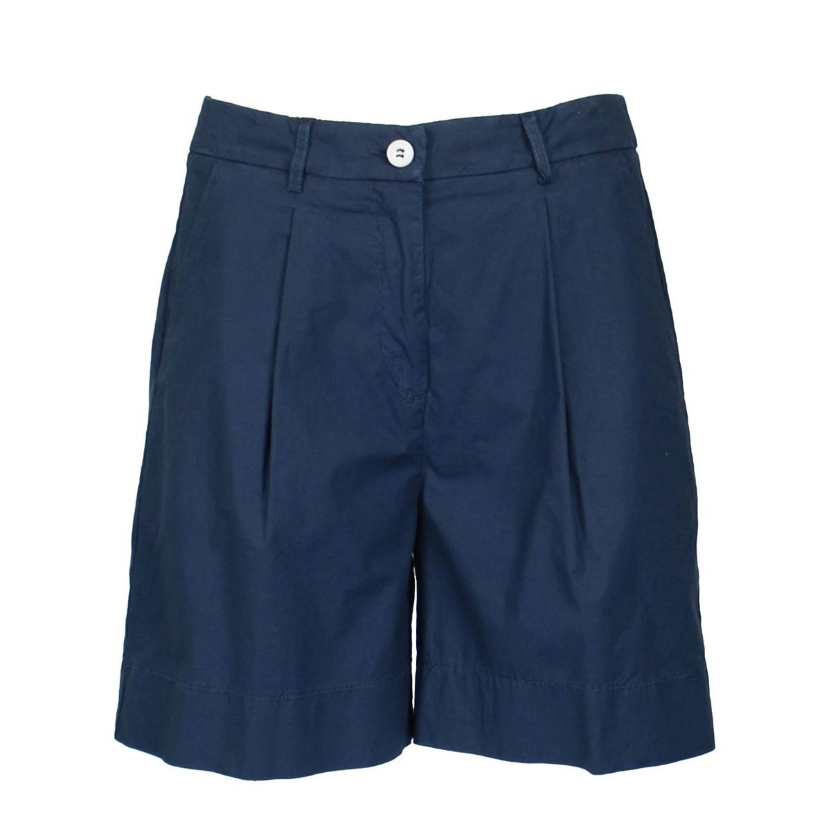 Short with pleats Blue Jeckerson