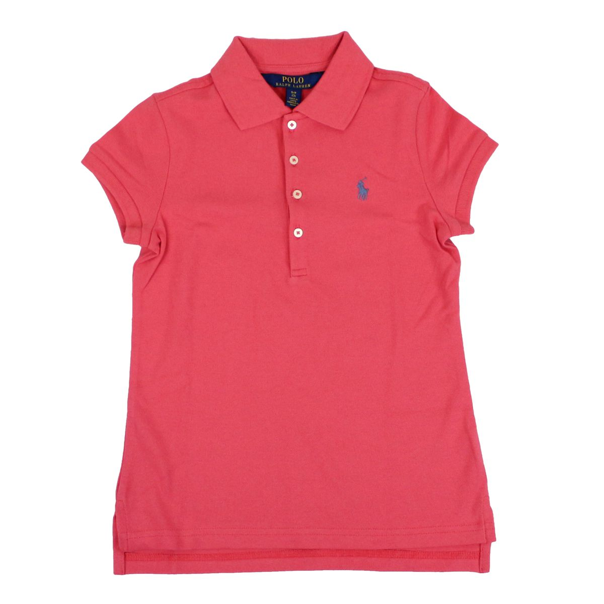 Silm-fit polo shirt with logo embroidery Strawberry Polo Ralph Lauren