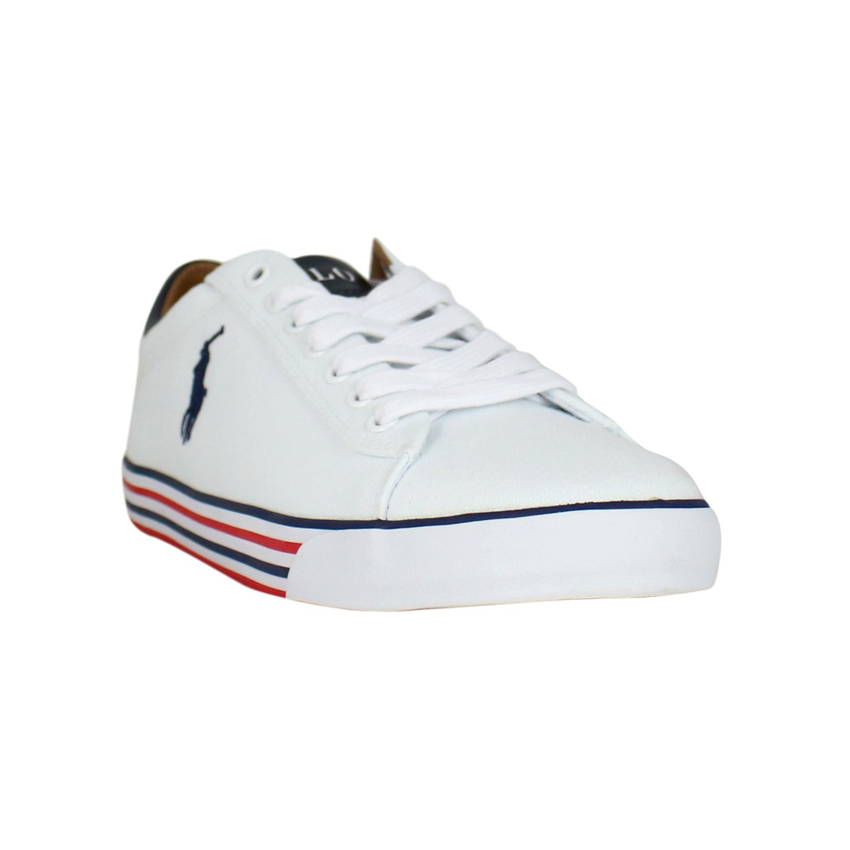 Sneakers Harvey in cotone Bianco Polo Ralph Lauren