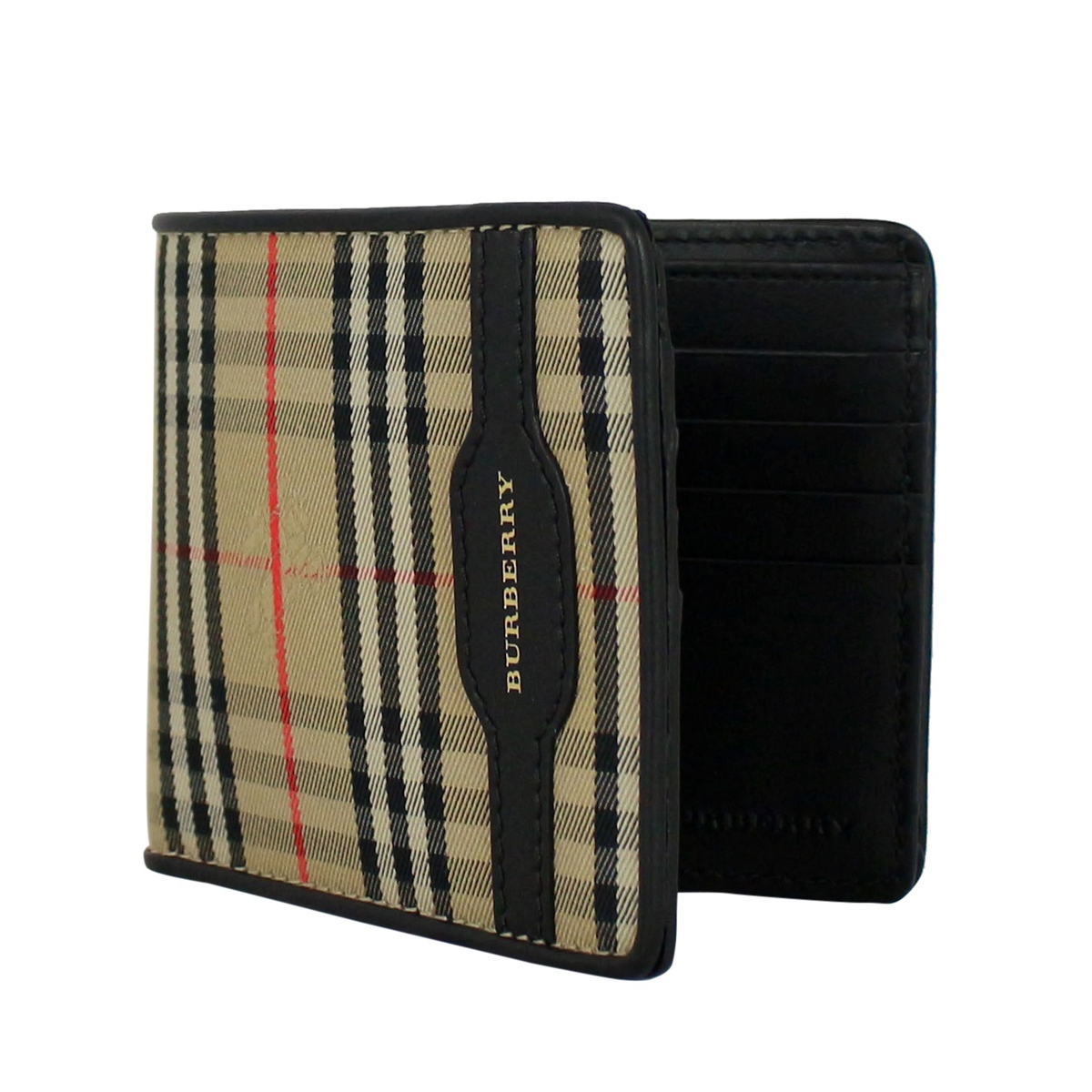 Classic wallet Camel check Burberry