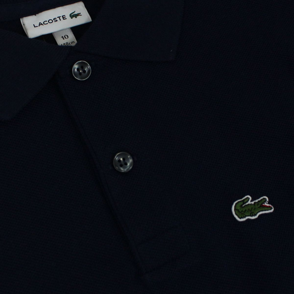 2 button cotton polo shirt Blue Lacoste