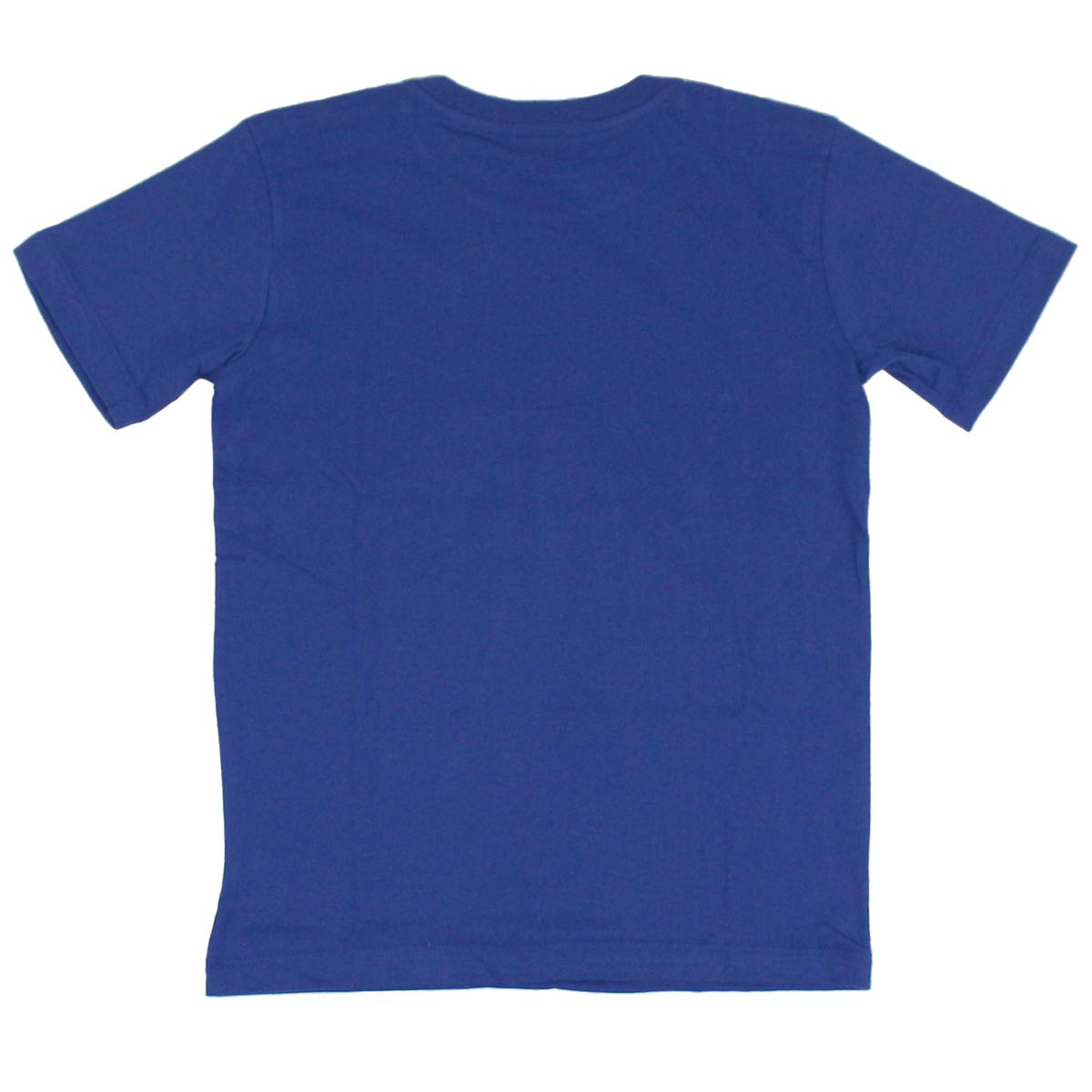 Cotton T-shirt with print and logo Royal Lacoste