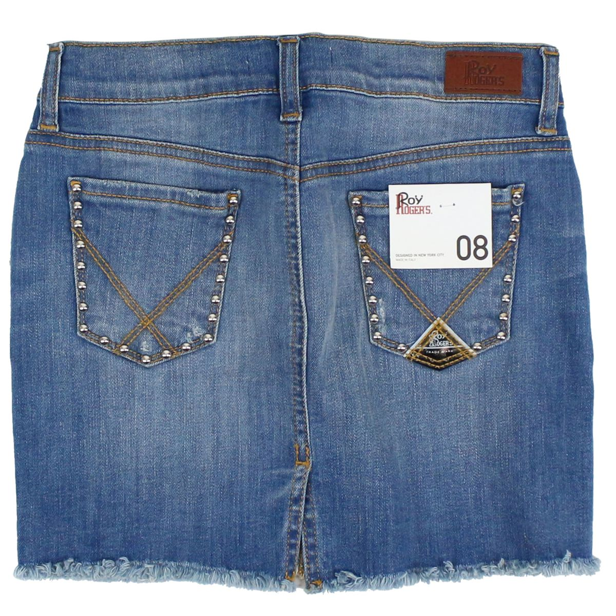 Rik Edge jeans skirt Medium denim Roy Roger's