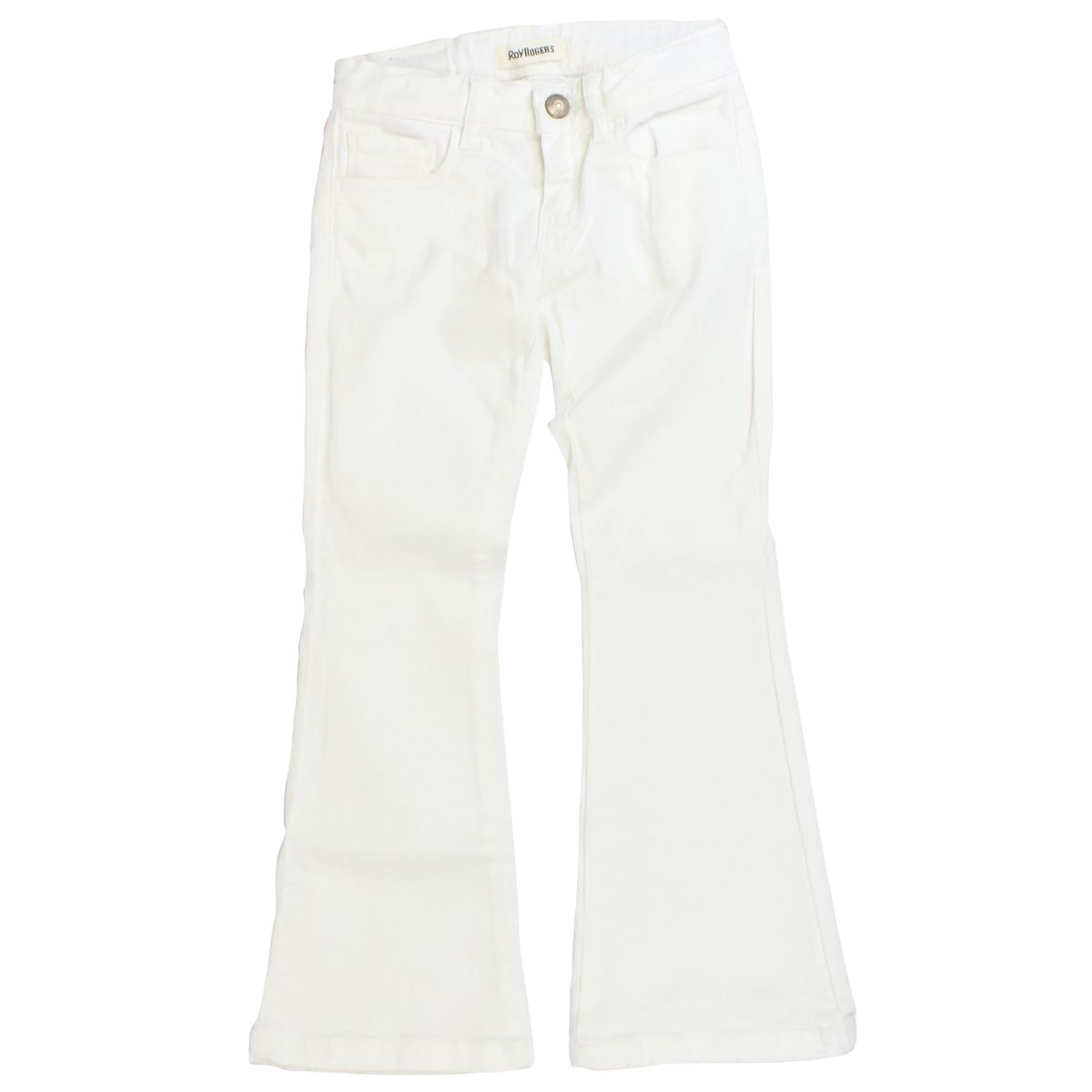 Super Caryna flared jeans White ROY ROGER'S
