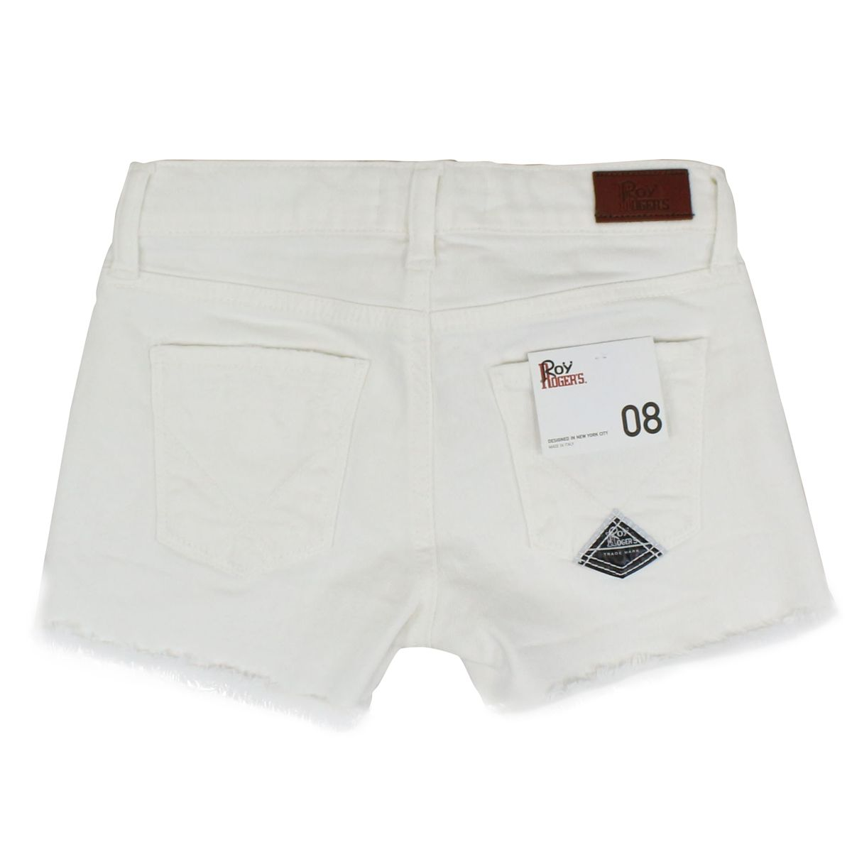 Bry Edge short stretch White ROY ROGER'S