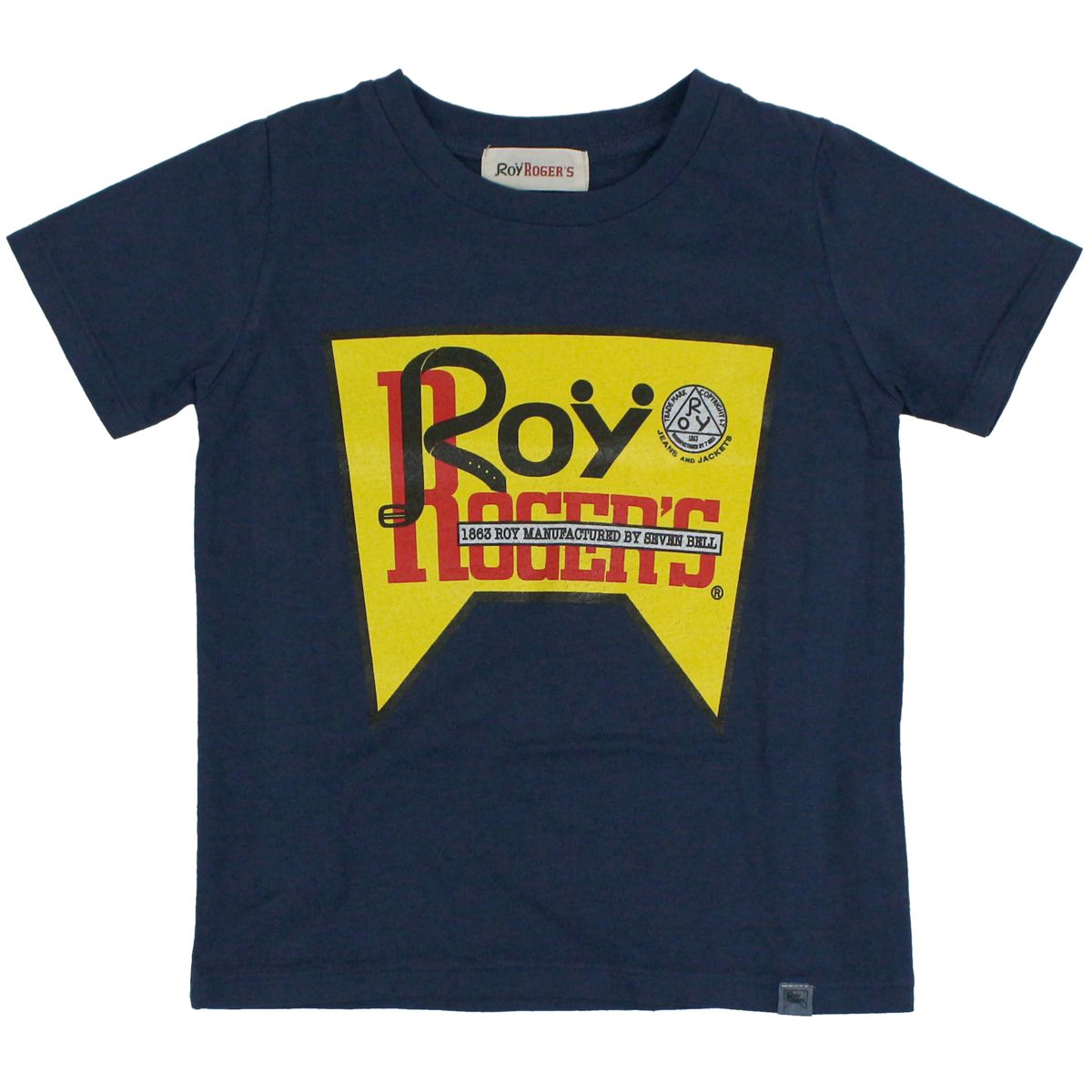 T-shirt with print Blue ROY ROGER'S