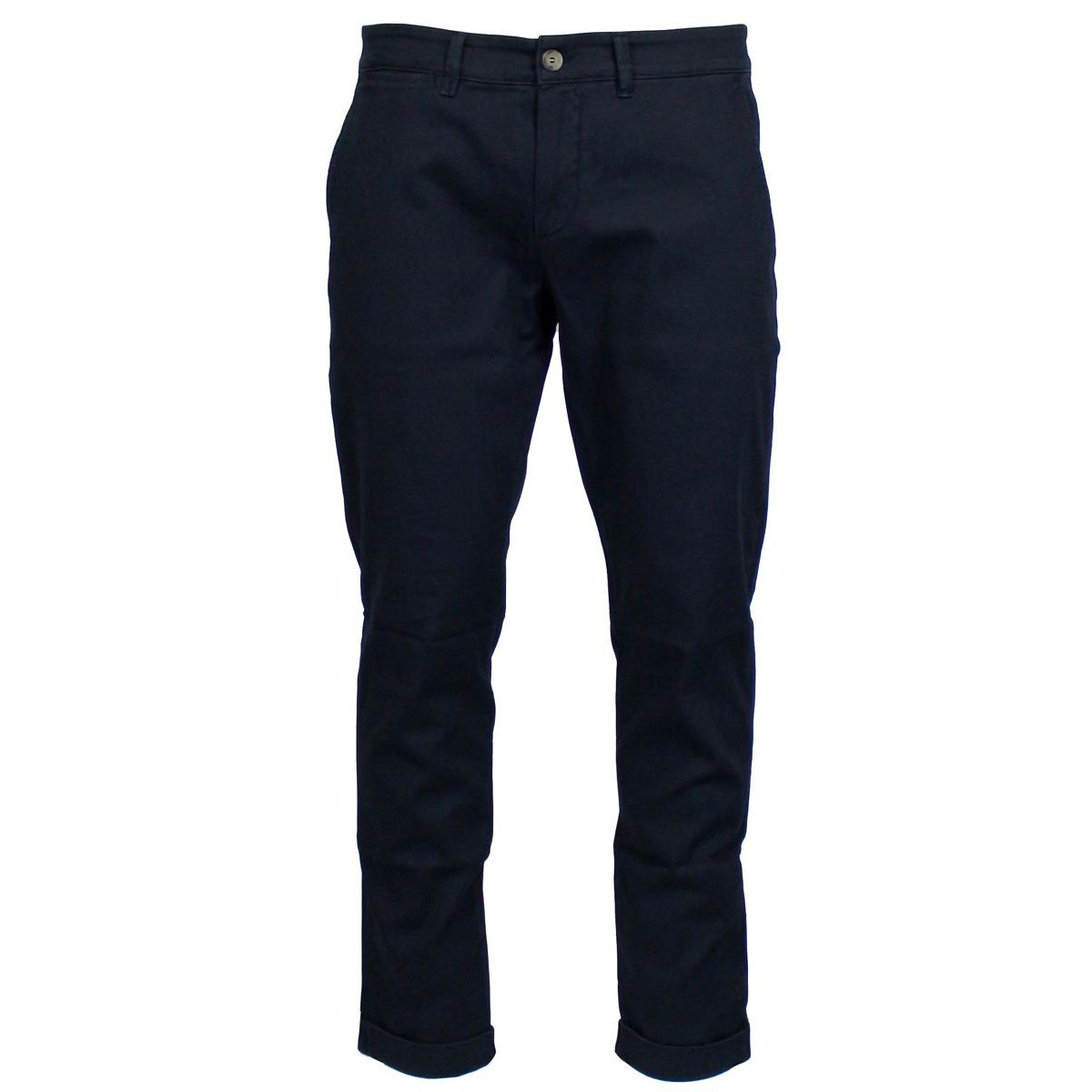 Stretch cotton trousers with america pockets Blue Jeckerson
