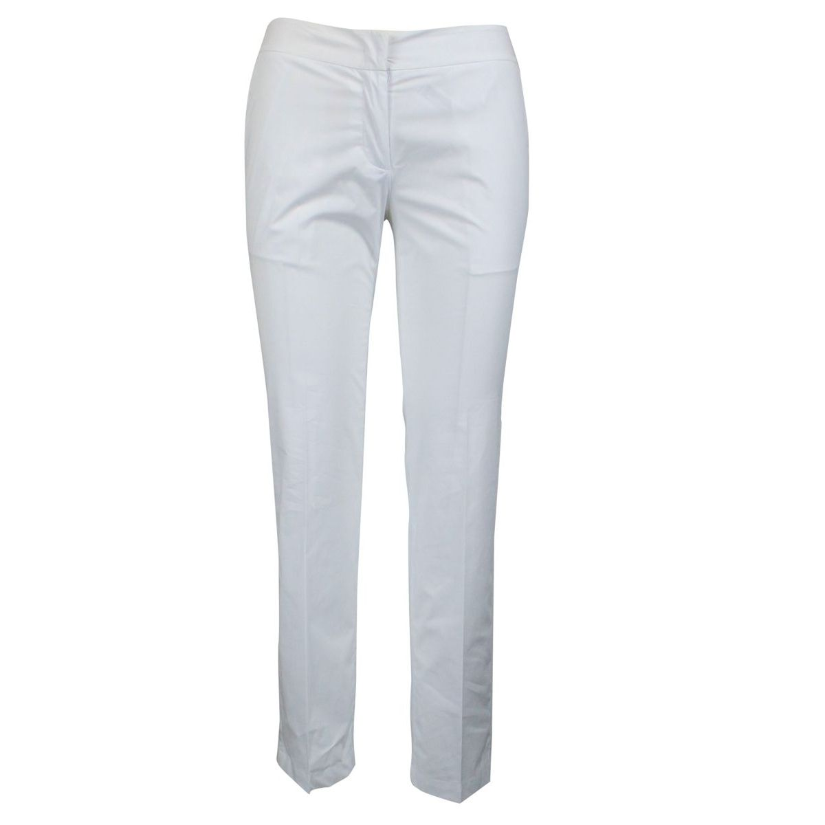 Cigarette stretch trousers Optical white Twin-Set