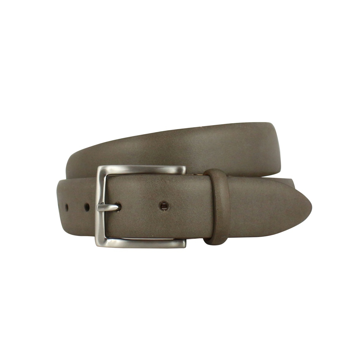 Leather belt H 35 Mud SERGIO GAVAZZENI
