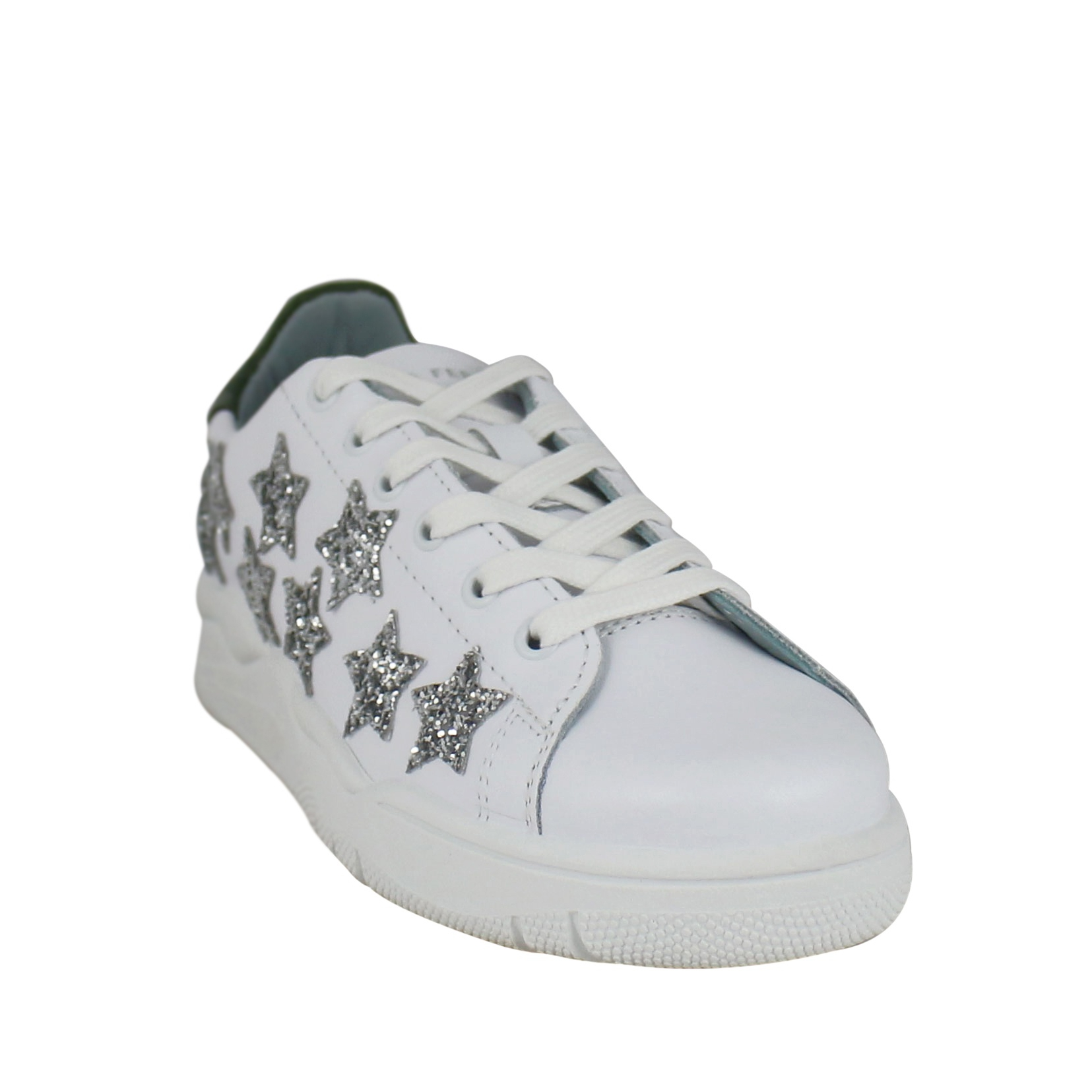 best service 2603a 4866e Sneakers with glitter stars
