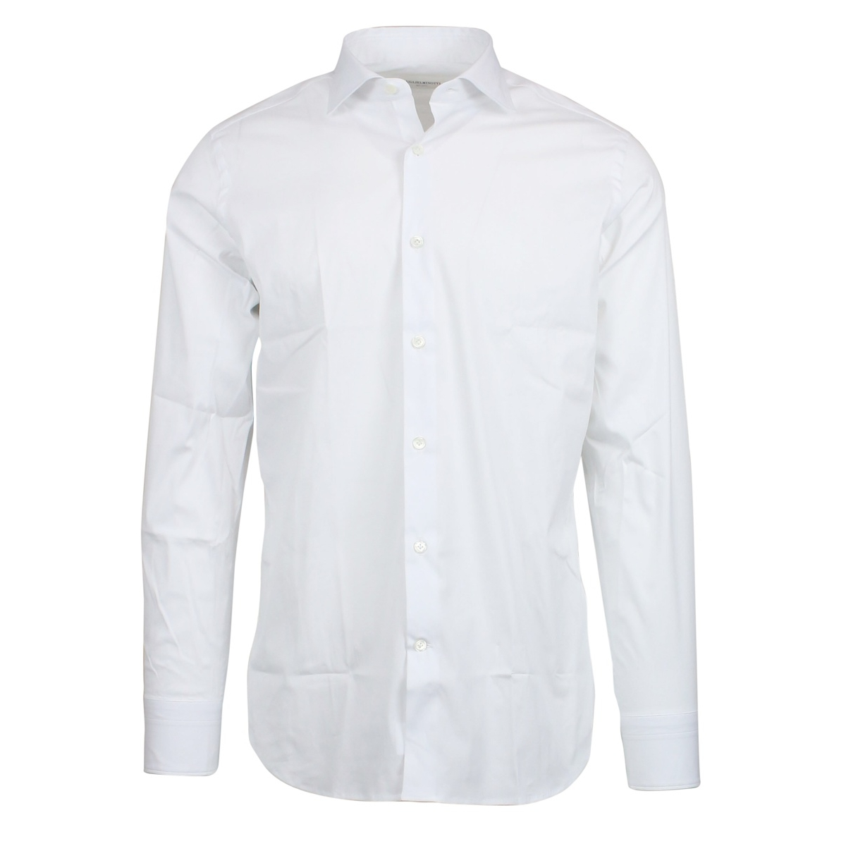 Custom-fit shirt with French collar White GUGLIELMINOTTI
