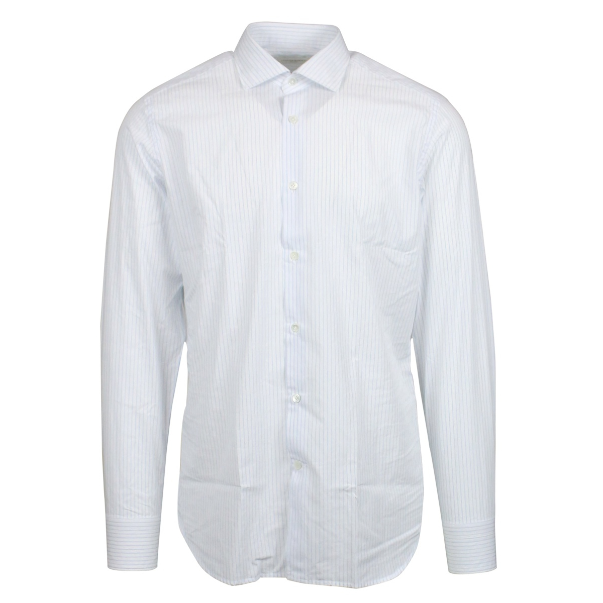 Micro-line custom-fit shirt White Guglilminotti