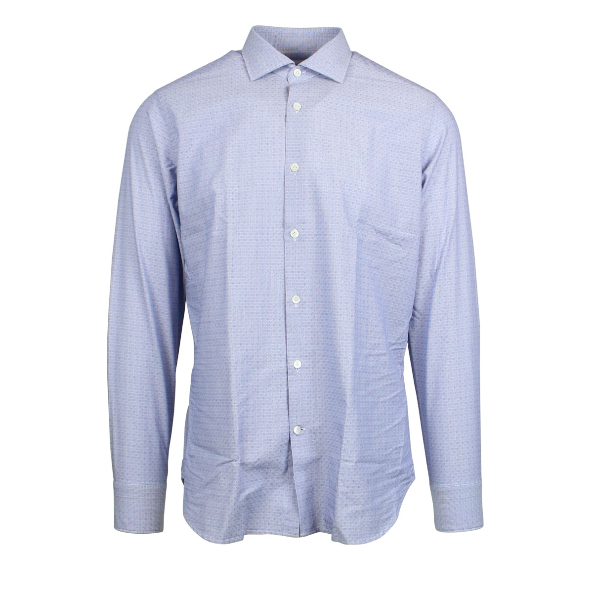 Shirt with French collar Light blue Guglilminotti