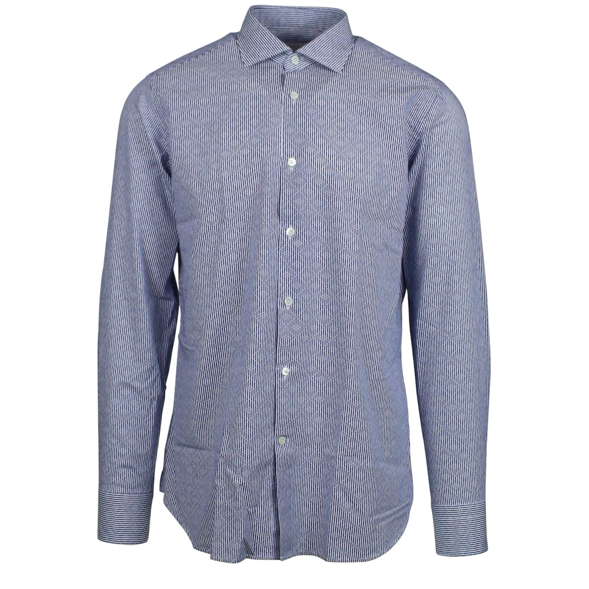 Shirt with French collar Blue Guglilminotti