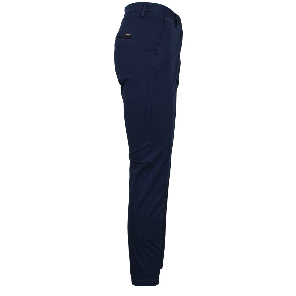 Cotton trousers with america pockets Blue MICHAEL COAL