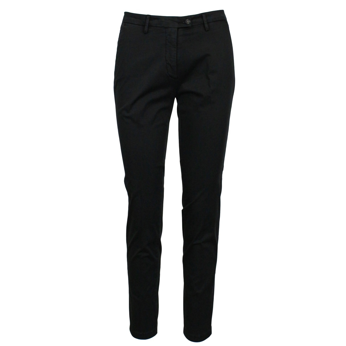 Cotton trousers with america pockets Black MICHAEL COAL