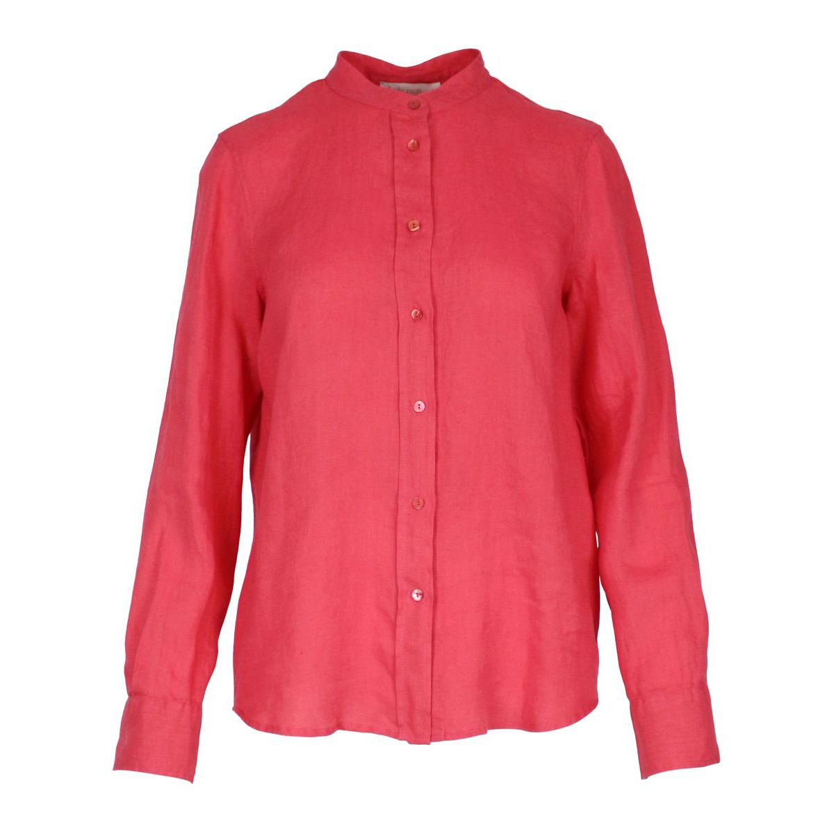 Shirt with Korean collar Coral Jeckerson