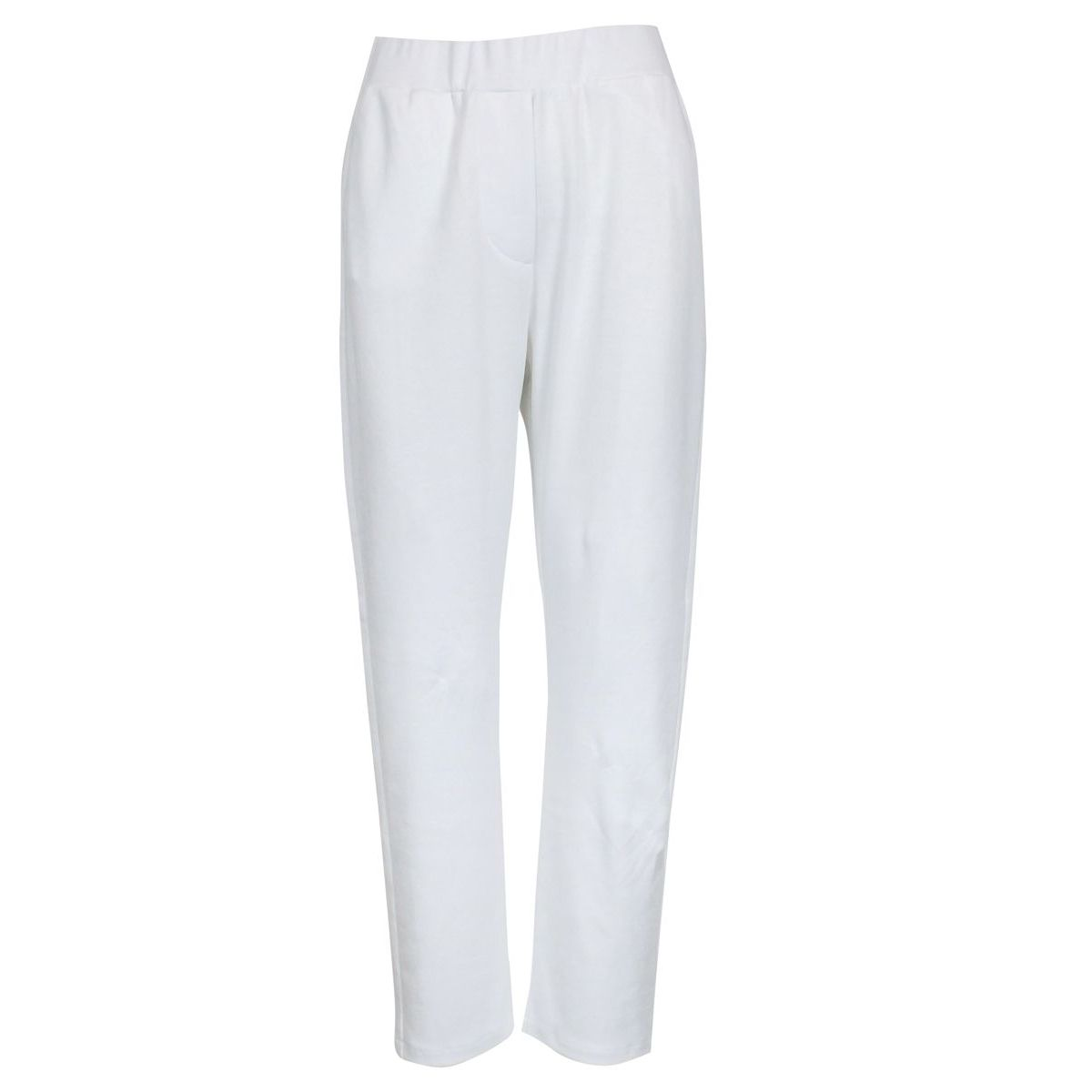 Jojjing style trousers with elastic Optical white Gran Sasso
