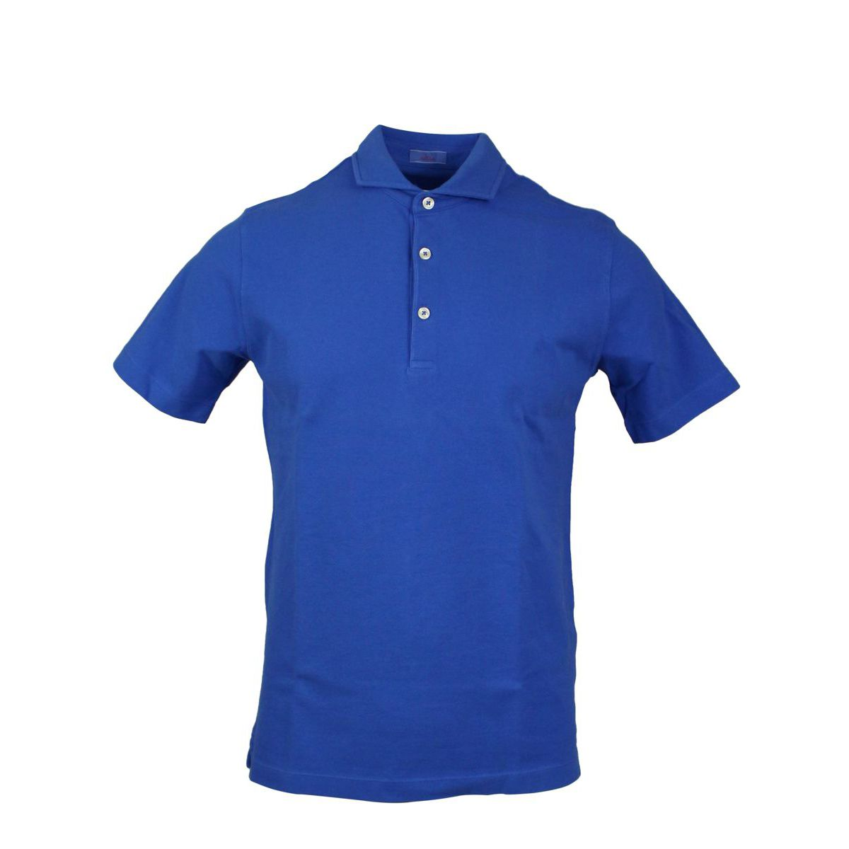 Cotton polo shirt with French collar Royal Altea
