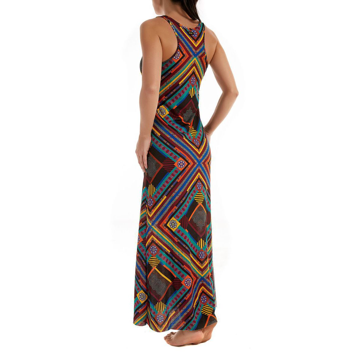 Long dress Papunya model Lecce Fantasy F**K