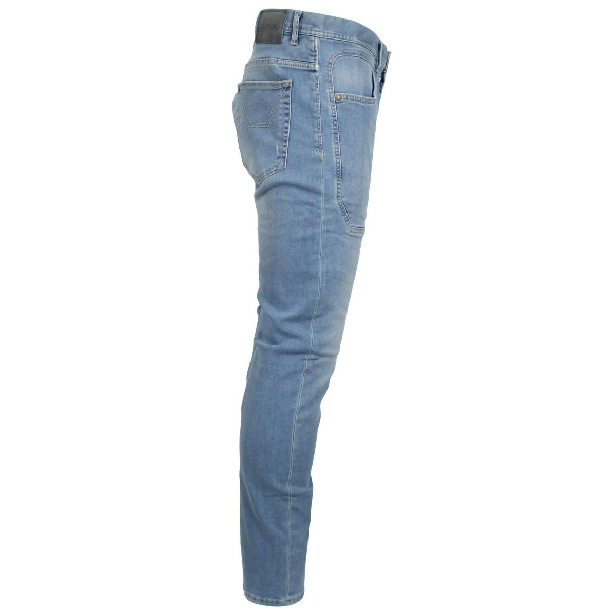 Jeans Patch tapered Light denim Jeckerson