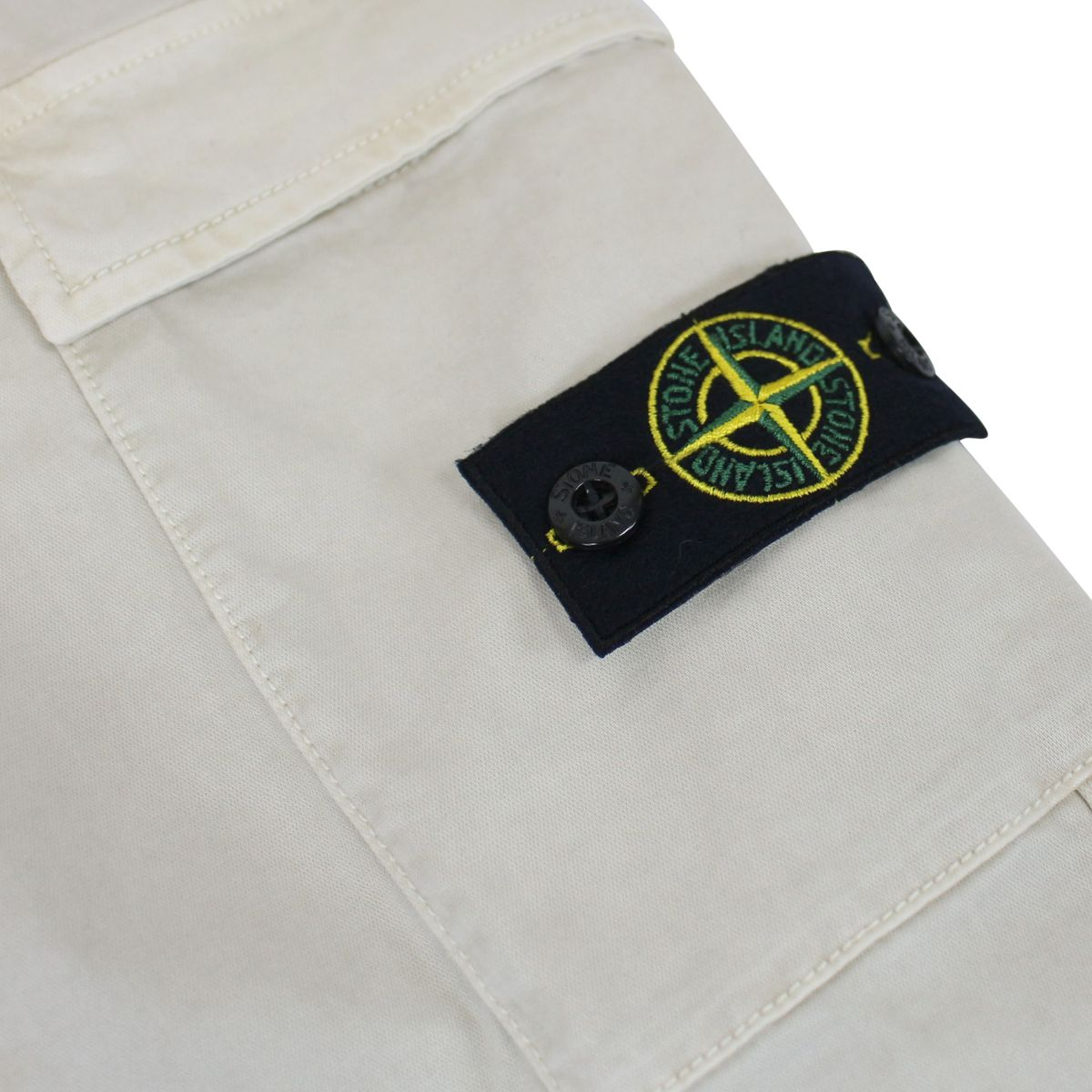 Slim-fit cargo pants Stucco Stone Island