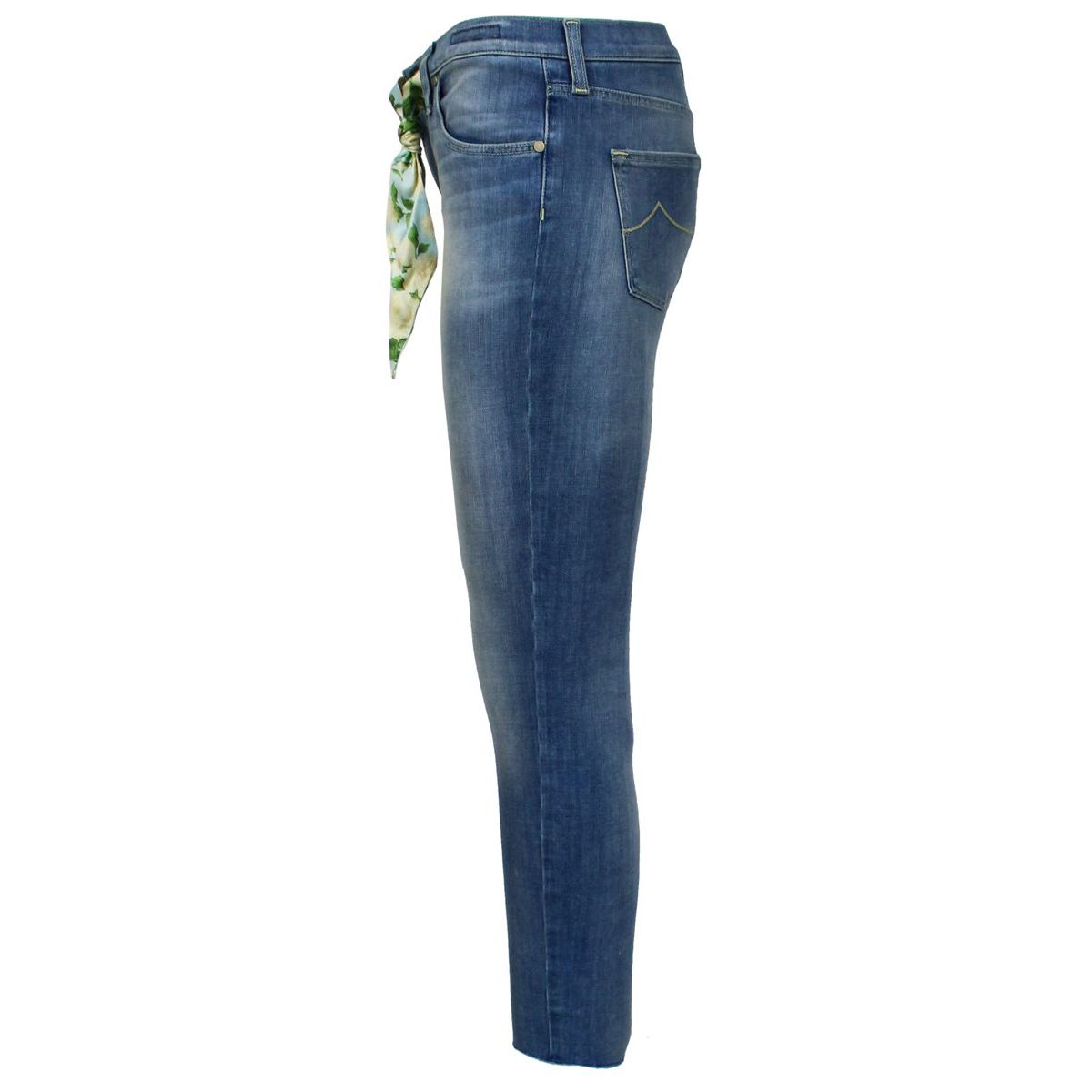 Kimberly cropped jeans with scarf Light denim Jacob Cohen