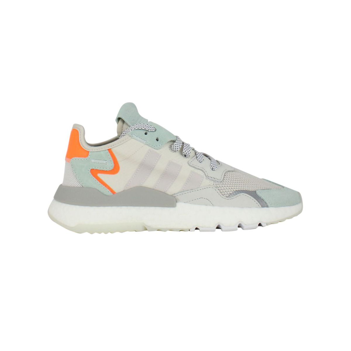 Nite Jogger sneakers with inserts Light grey ADIDAS
