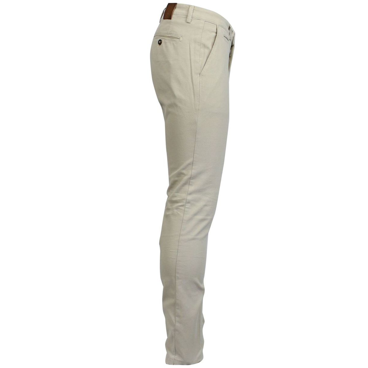 Stretch trousers with america pockets Beige BRIGLIA