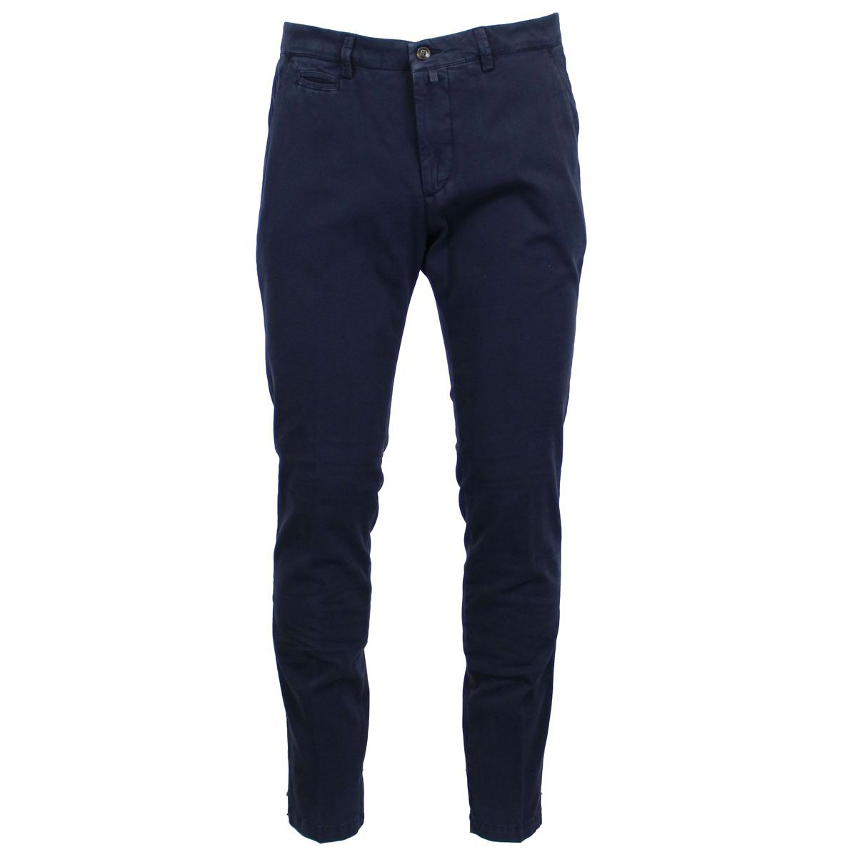 Stretch trousers with america pockets Blue BRIGLIA