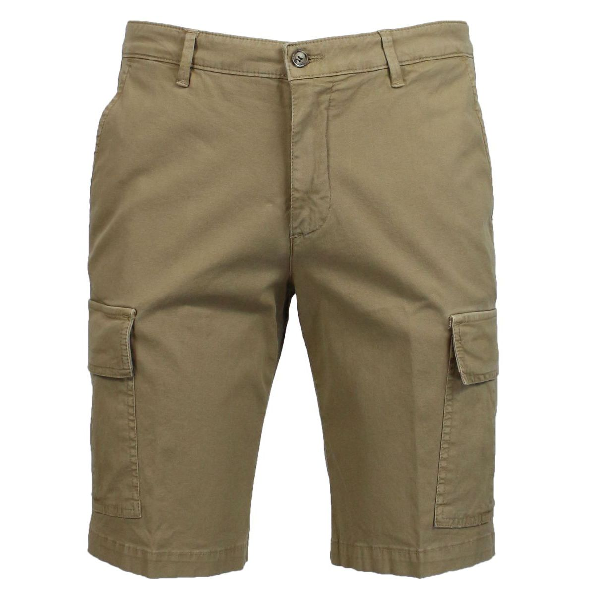 Stretch cotton shorts with pockets Rope BRIGLIA