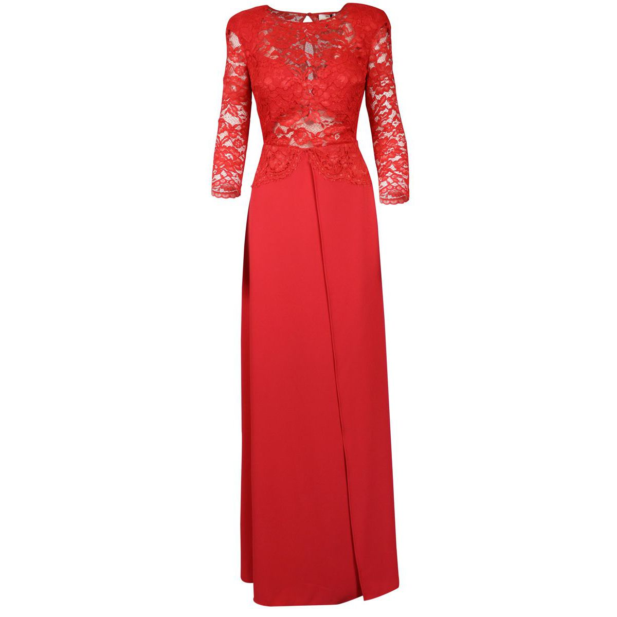 Long dress with lace bust Currant Elisabetta Franchi