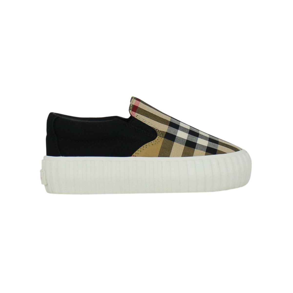 Slip on with check pattern Check / black Burberry