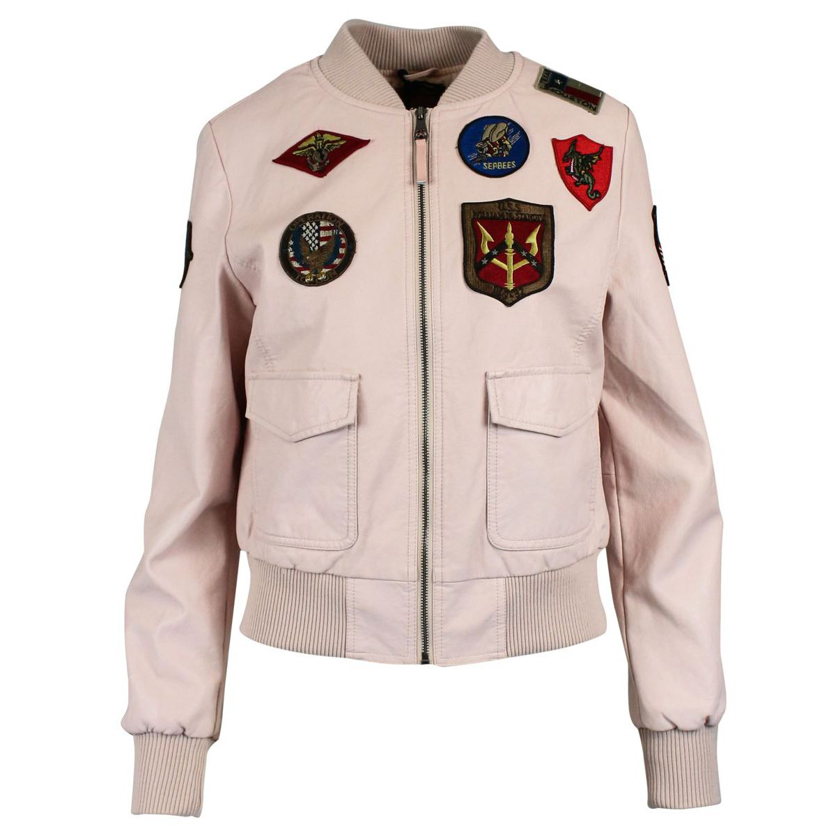 Jacket with applications Rose TOP GUN