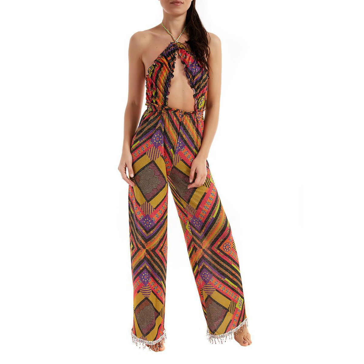 Long dress Papunya fantasy Multicolor F**K