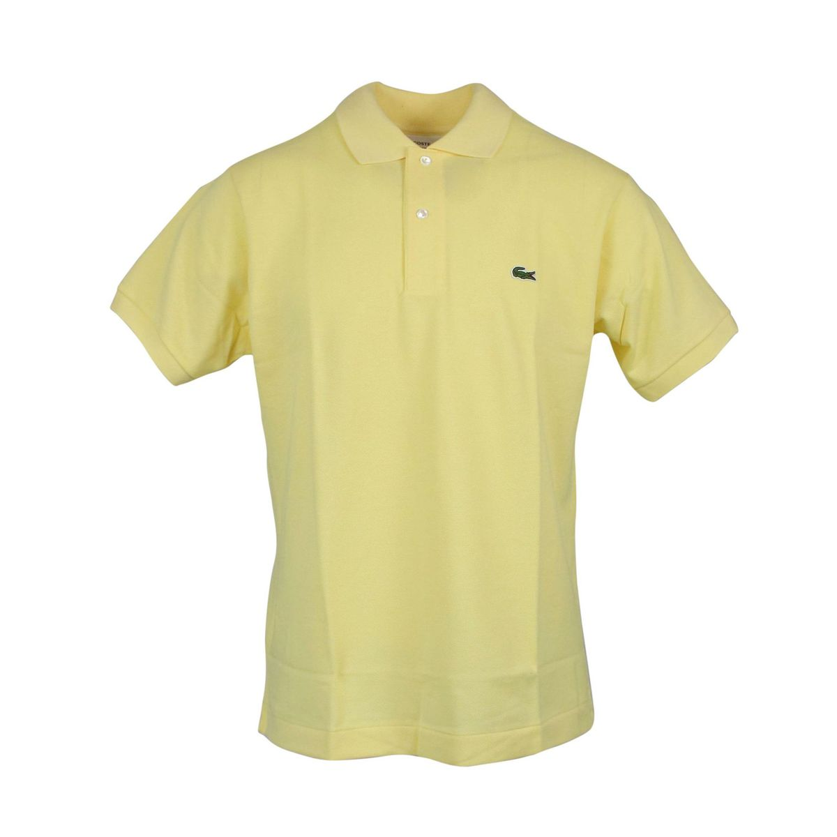 2-button regular fit polo shirt Yellow Lacoste