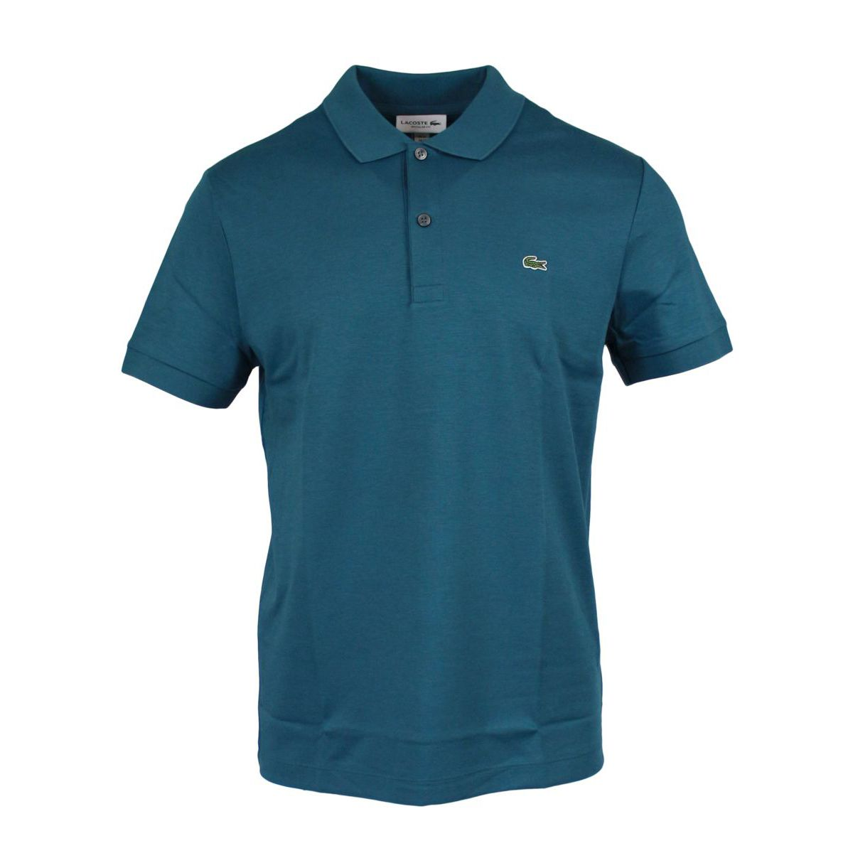 Regular Jersey Polo Petroleum Lacoste