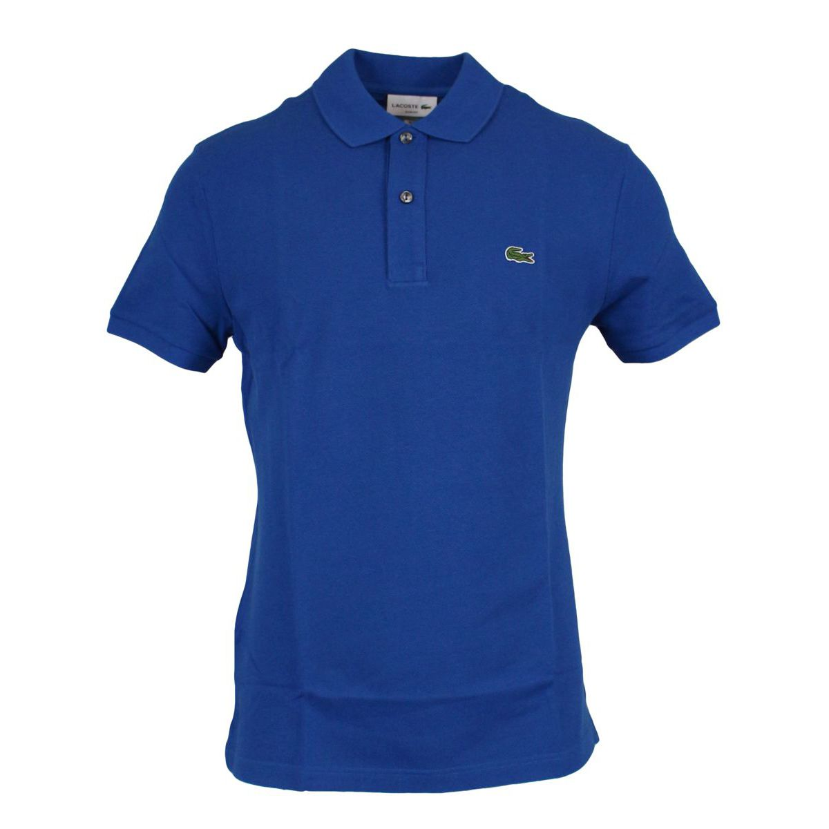 2-button polo shirt in slim cotton Light blue Lacoste