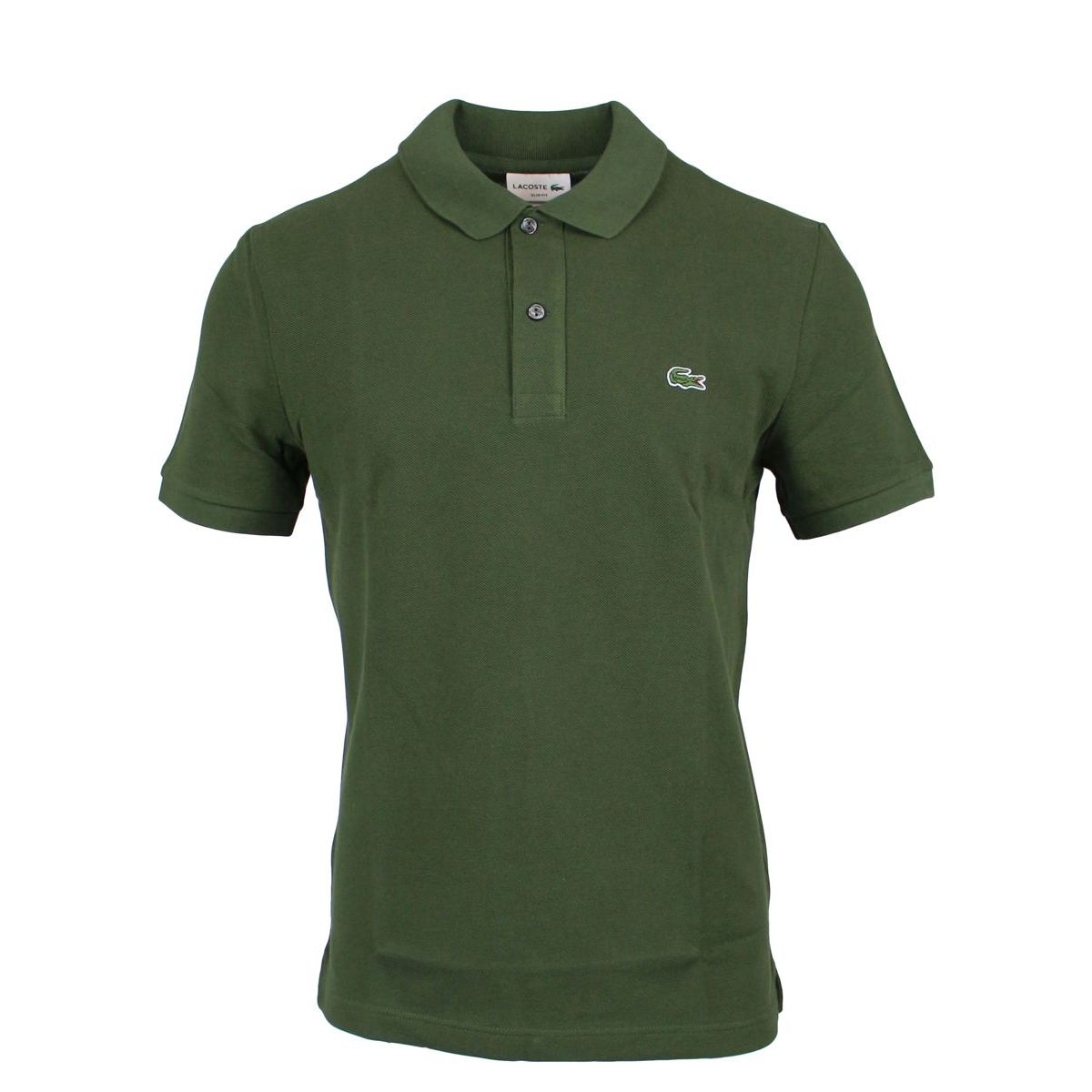 2-button polo shirt in slim cotton Bosco Lacoste