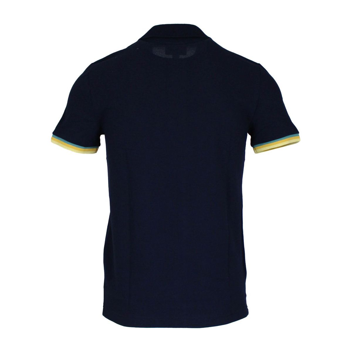 Slim Polo 100% cotton borders Navy Lacoste