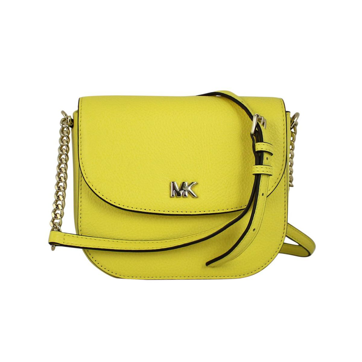 Medium Ginny shoulder bag Yellow Michael Kors